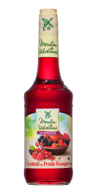 Moulin de Valdonne Red Fruits Syrup 70cl/23.7 fl oz