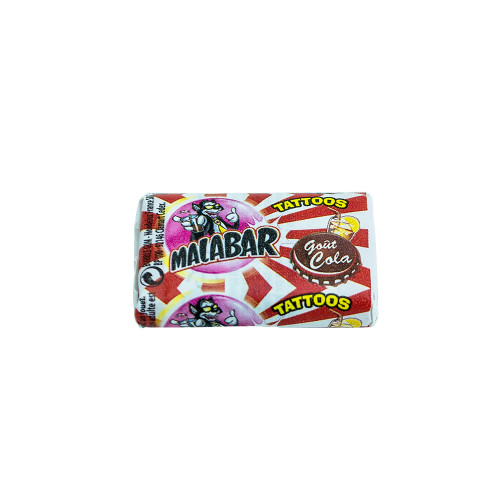 Malabar Bubble Gum cola 7g (0.25oz)