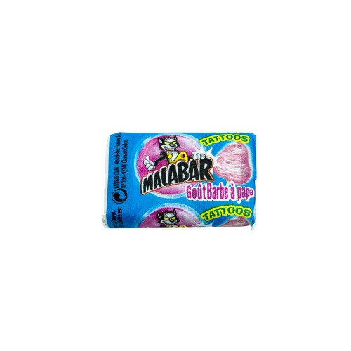 Malabar Bubble Gum Cotton Candy 7g (0.25oz)