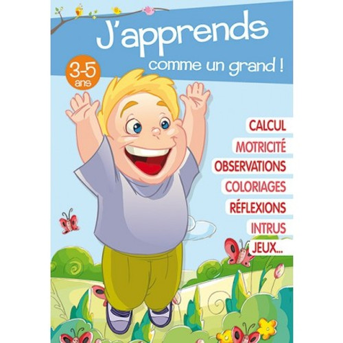 I'm learning like a big kid! French Edition