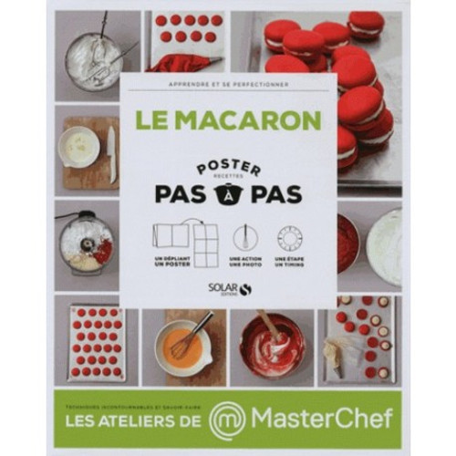 Macarons - Post step by step French Edition