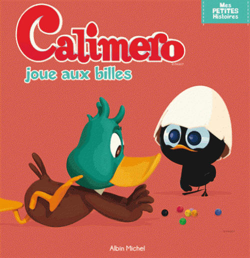 Calimero plays marble French Edition