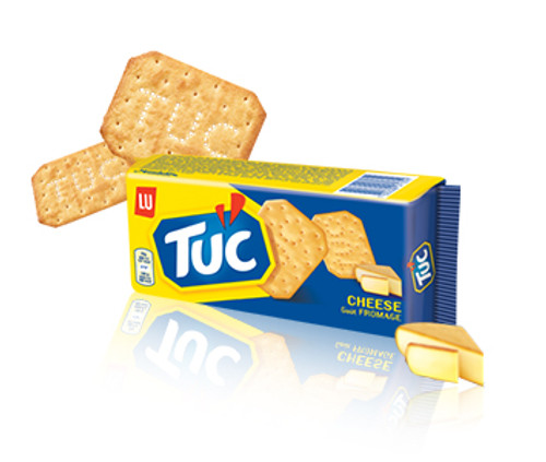 LU Tuc Crackers Cheese Flavored 100g (3.5 oz)
