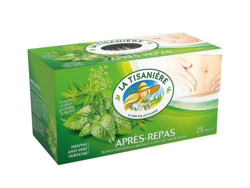 La Tisaniere Apres Repas Herb Tea 25 bags
