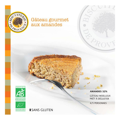Biscuiterie de Provence French Organic Nature Cake Gluten Free 225g (7.9 oz)