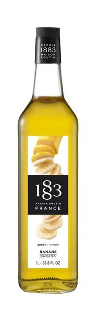 1883 Syrup Banana 1L (33.8fl oz)