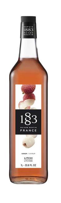 1883 Syrup Lychee 1L (33.8 fl oz)