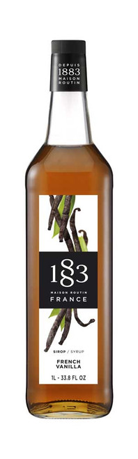 1883 Syrup French Vanilla 1 L (33.8 fl oz)