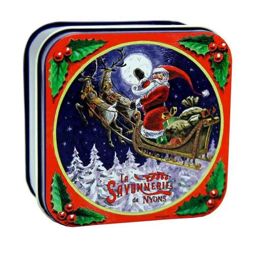 La Savonnerie de Nyons Soap Metal Box The sled 3.52 oz