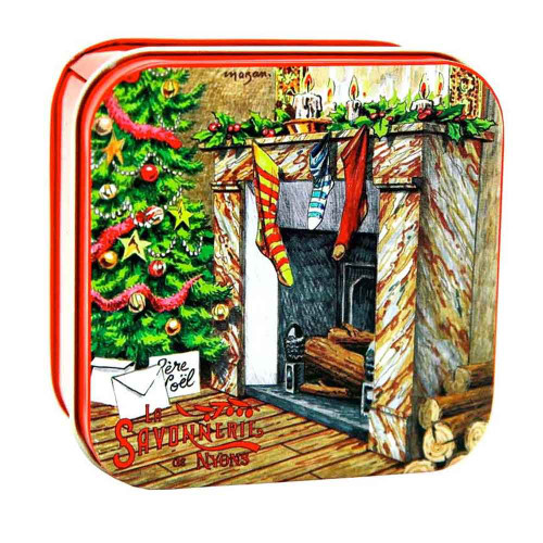 La Savonnerie de Nyons Soap Metal Box The chimney 3.52 oz