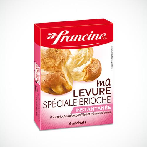 Francine Yeast Special Brioche 6 bags