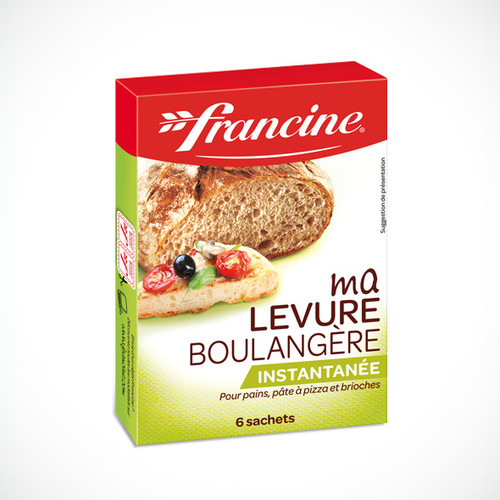Francine Yeast Bakery Bread and Pizza 6 bags