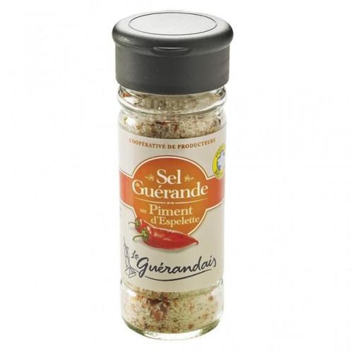 Le Guerandais Fine Salt with Espelette Chili 90g (3.17oz)