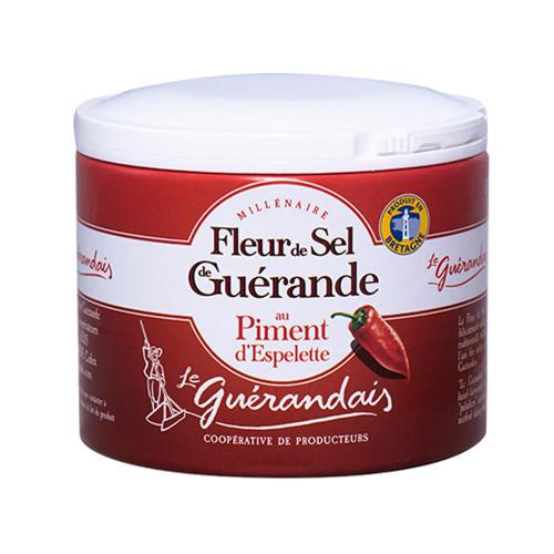 Le Guerandais Flower of Salt with Espelette 125g/4.4 oz