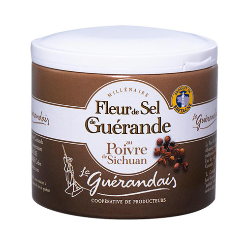 Le Guerandais Flower of Salt with Sichuan Pepper 125g/4.4 oz
