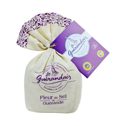 Le Guerandais Flower of Salt Linen Bag 125g/4.4 oz