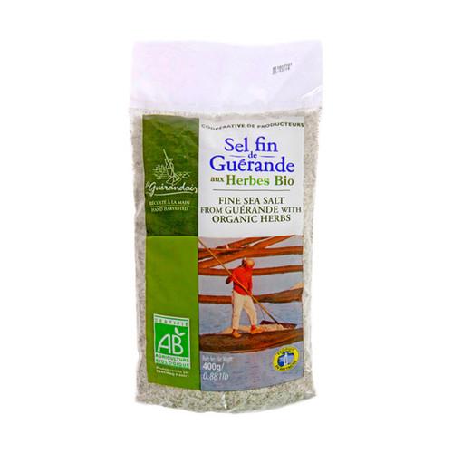 Le Guerandais Fine Salt with Organic Herbs 400g/14.1oz