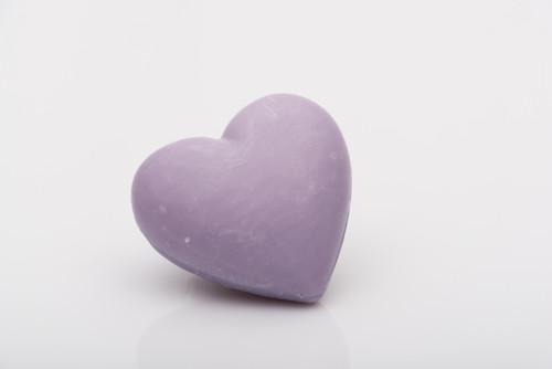 La Savonnerie de Nyons Heart Soap 25 g Lavender