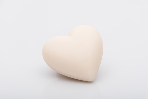 La Savonnerie de Nyons Heart Soap 25 g Cotton Flower
