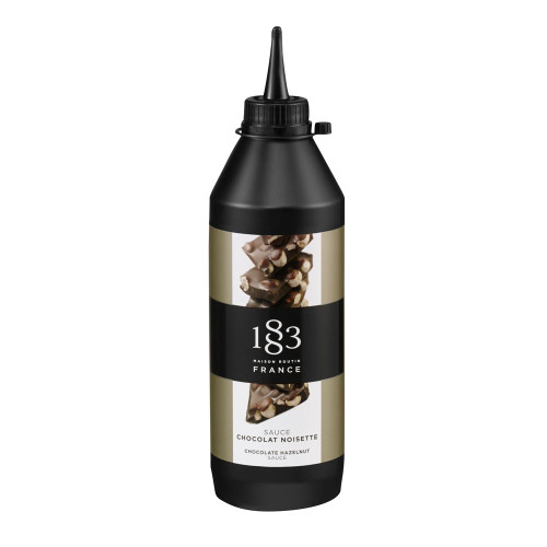 1883 sauces chocolate milk and hazelnut squeeze 500ml (16.9 fl oz)
