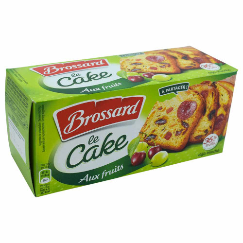 Brossard the sliced fruit cake 300G/10.58 oz