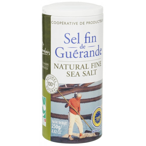 Le Guerandais Natural Grey Fine Sea Salt 250g/8.82 oz