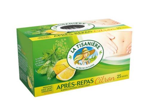 La Tisaniere Apres Repas Lemon Herb Tea 25 bags