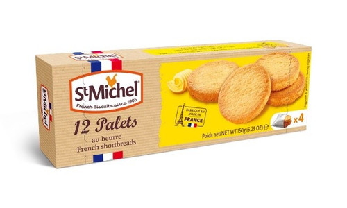 St Michel Butter Palets 150g/5.29oz