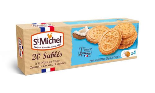 St Michel Coconut Sables 120g/4.23oz