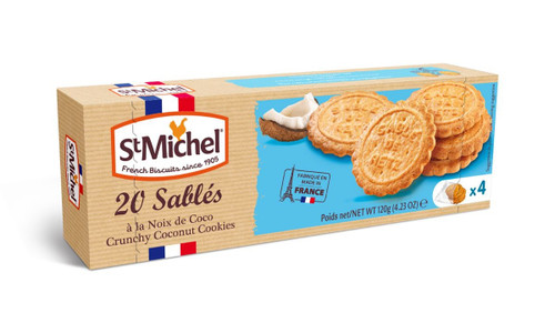 St Michel Coconut Sables 120g/4.23oz