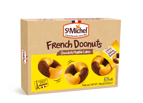St Michel Marble Cake French Doonut 180g/6.35oz