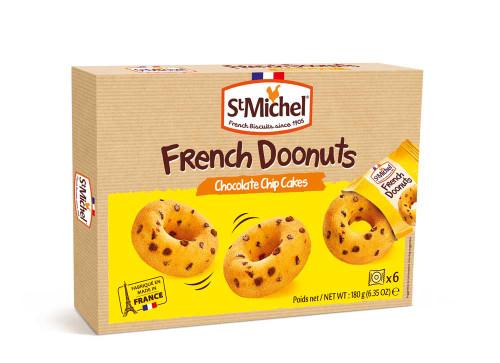 St Michel Chocolate Chip French Doonut 180g/6.35oz