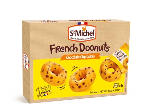 St Michel Chocolate Chip French Doonut 180g/6.35oz
