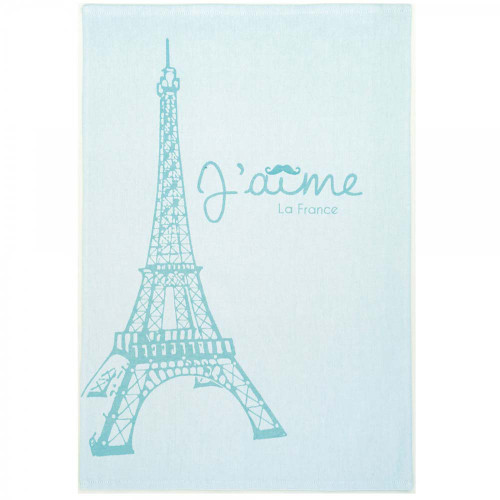 "Coucke Kitchen Towel Eiffel Tower Paris 20""x30"""