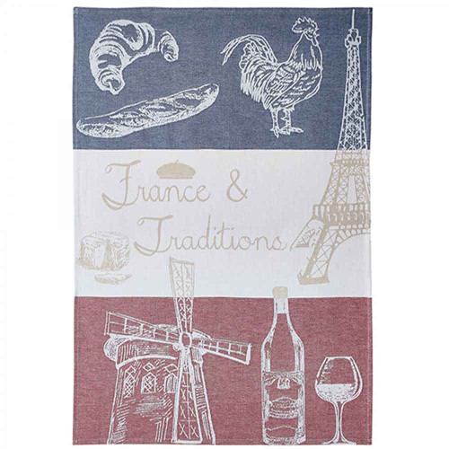 "Coucke Kitchen Towel France and Tradition 20""x30"""