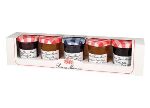 Bonne Maman Gift Pack 5 mini jars of 50 g (1.76 oz)