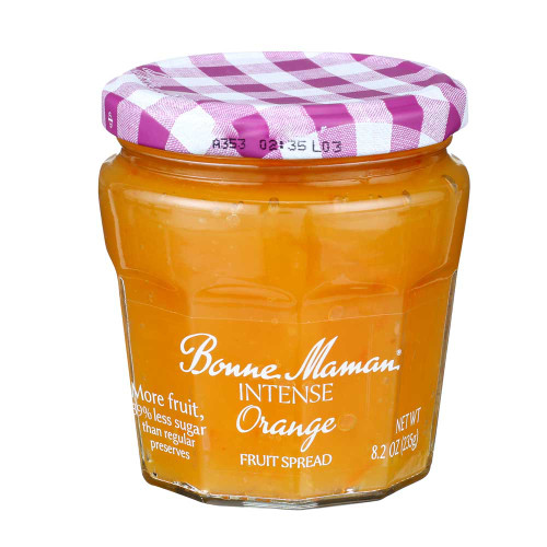 Bonne Maman Intense Orange Fruit Spread 235g/8.2 oz