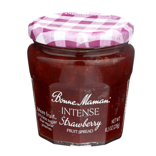 Bonne Maman Intense Strawberry Fruit Spread 235g/8.2 oz
