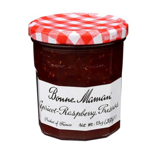 Bonne Maman Apricot Raspberry Preserves 370g/13 oz