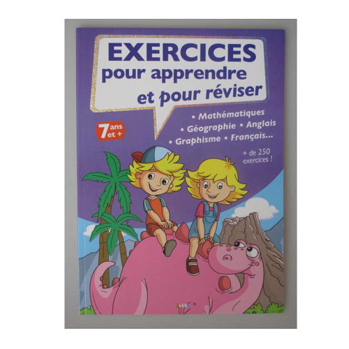 Exercise Book to Learn and Revise French Edition
