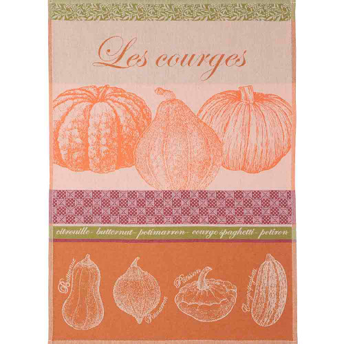 Coucke Jacquard Kitchen Towel squashes