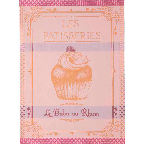 Coucke Jacquard Kitchen Towel Baba au Rhum