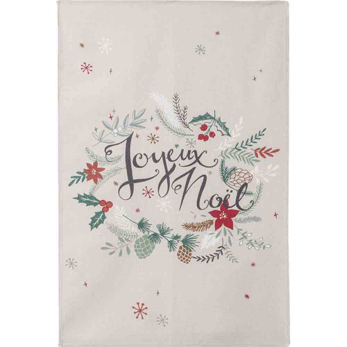 Coucke Kitchen Towel Cotton Printed Christmas