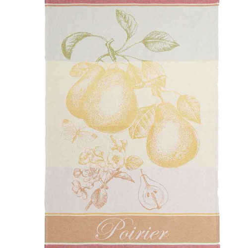 Coucke Jacquard Kitchen Towel Pear