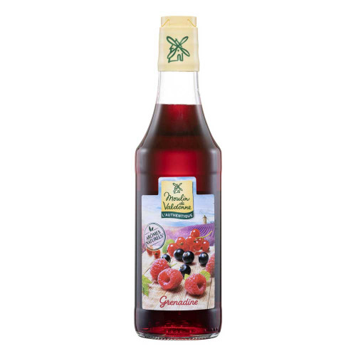 Moulin de Valdonne Grenadine French Syrup 50cl/16.9 oz