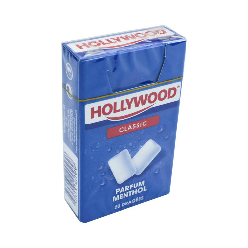 Hollywood Chewing Gum Menthol 20 drops 0.98oz