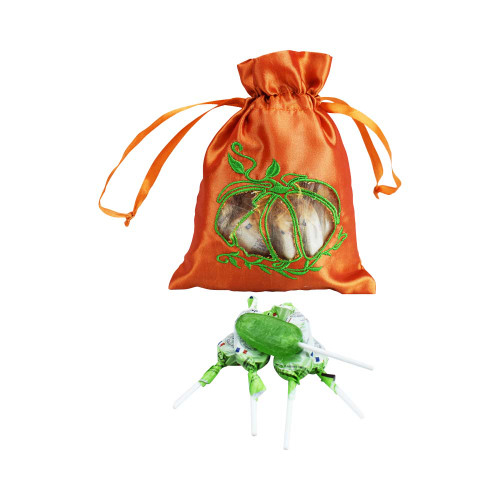 Le Panier Francais Halloween Bag of 12 French Candy Lollipop Apple