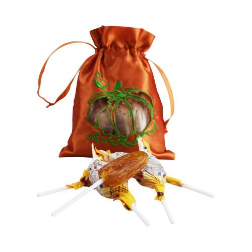 Le Panier Francais Halloween Bag of 12 French Candy Lollipop Honey