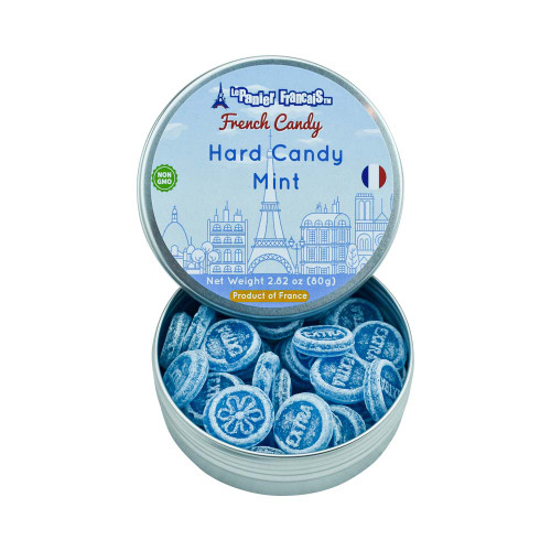 Le Panier Francais French Mint Drop Tin 2.80 oz