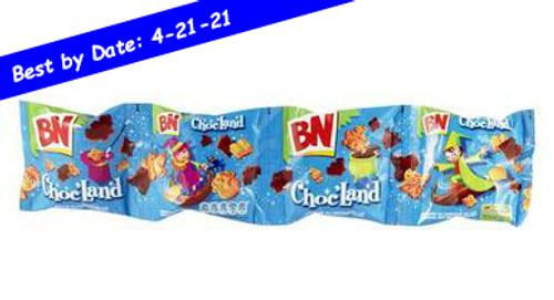 BN Choc'Land Biscuits Taste Milk Chocolate